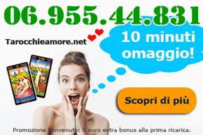 Promo benvenuto cartomanzia gratis 10 minuti