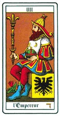 L'Imperatore nei tarocchi universali