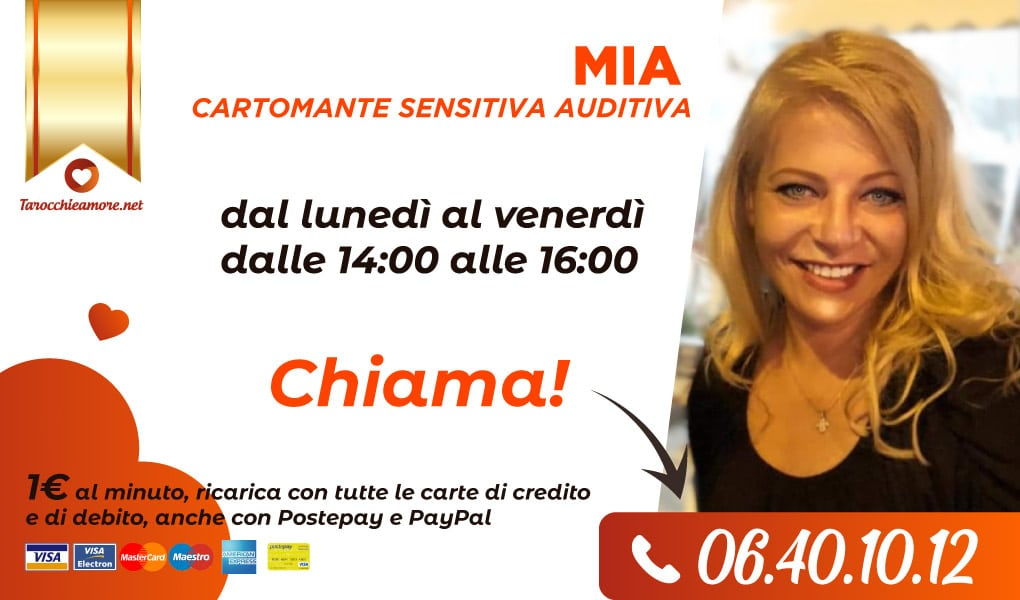 Mia cartomante sensitiva auditiva