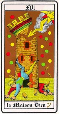 La Torre nei Tarocchi universali