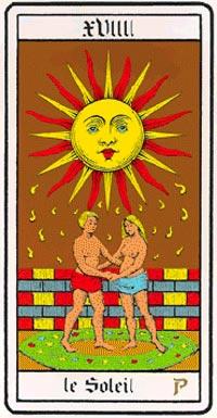 Il Sole nei Tarocchi universali