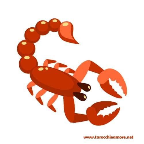 Scorpione Oroscopo dell'amore 2021